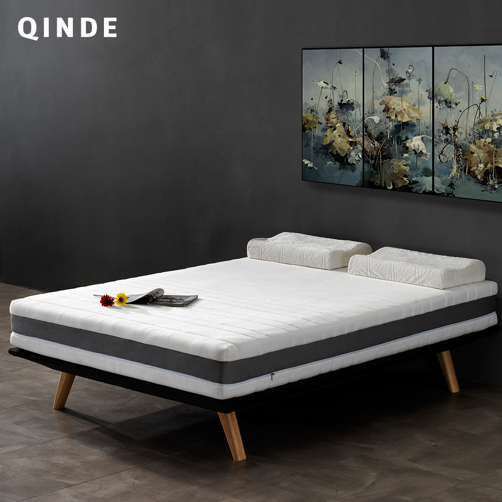 New Model Hot sale Movable Cover with Zipper Pocket Spring Mattress Queen King Size Mattress for Hotel Bedroom Apartment Q01# hot sale model quality fabric pocket spring support mattress king queen size mattress wholesaler factory price mattress s103