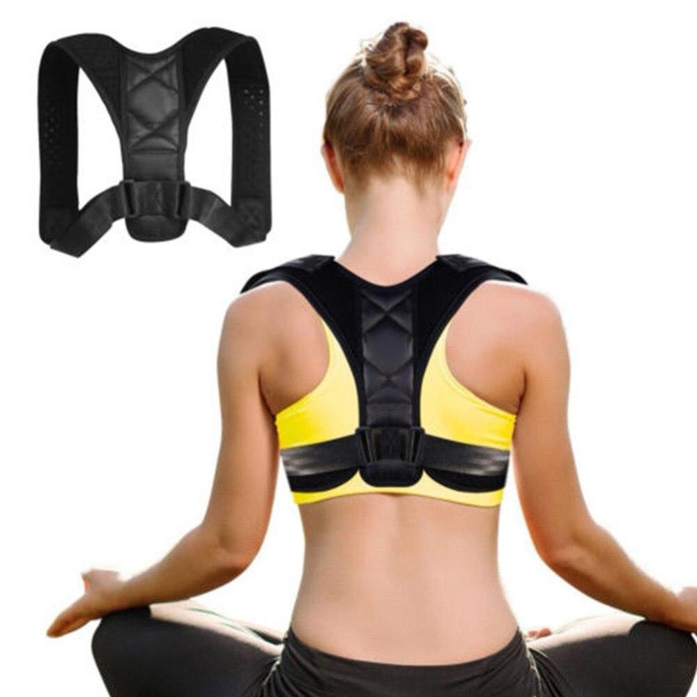 Einstellbare Haltung Corrector Elastische Zurück Unterstützung Schulter Brace Lenden Taille Gürtel Zurück Unterstützung Haltung Korrektur