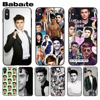 Babaite Zac Efron First-rate Phone Accessories Case For iphone 8 8plus and 7 7plus 6s 6s Plus 6 6plus 5s Cellphones image