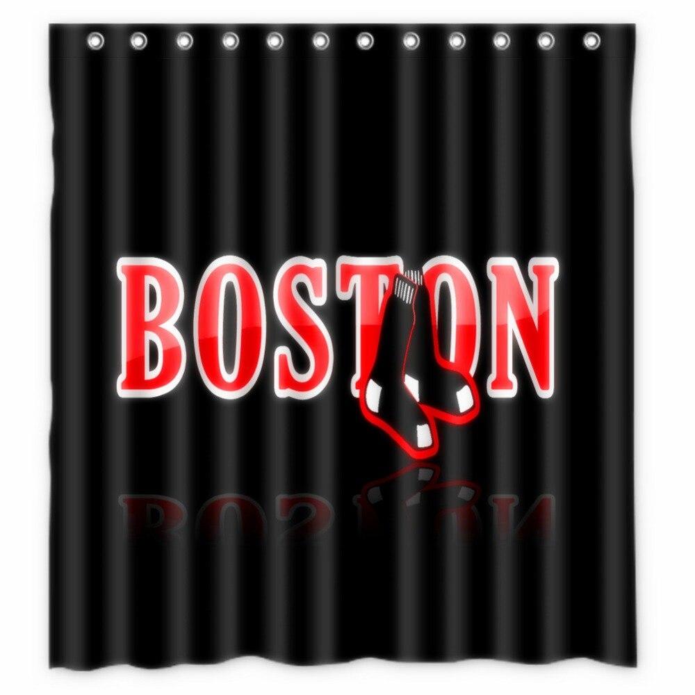 boston red sox shower curtain hooks | curtain menzilperde