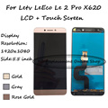 Gold/Rose Gold/Gray For Letv LeEco Le 2 Le2 Pro X620 X527 LCD Display + Touch Screen Digitizer Smartphone Replacement