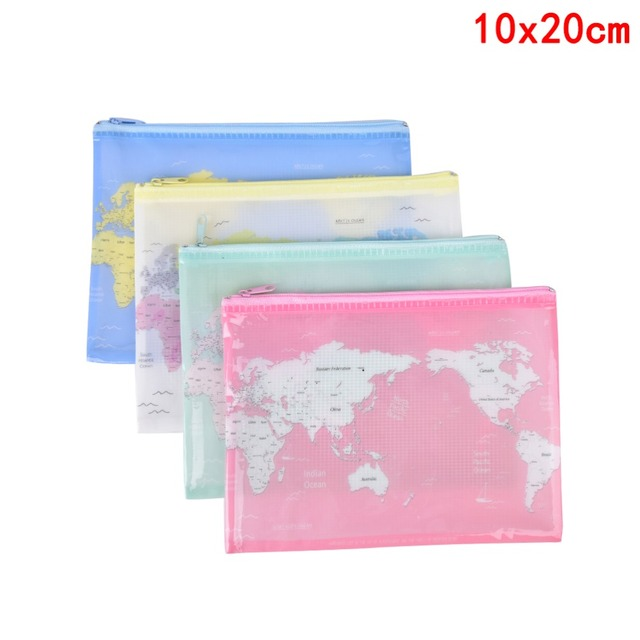 World Map Image For Print. Peerless World Map Print A4 A5 B6 File Bag Document Folder