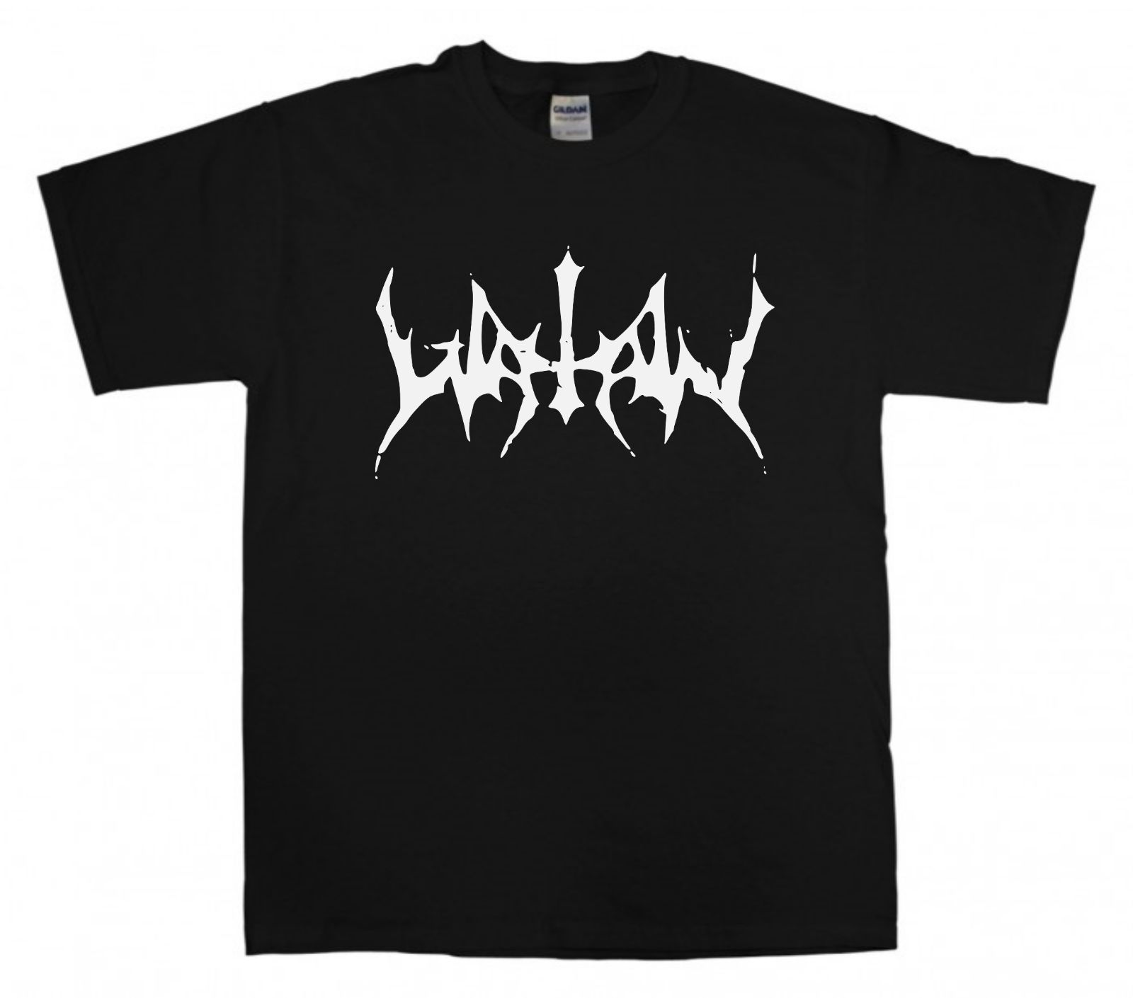 WATAIN New Logo Black T-shirt S-XXL Metal T Shirt Marduk Darkthrone Animal Print T-Shirts Men Cotton Fashion