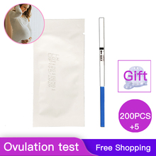 200Pcs / private early LH female Ovulation test card fast test adult products Higher accuracy 99% accuracy rate free shipping speaking test preparation pack for bec higher paperback dvd
