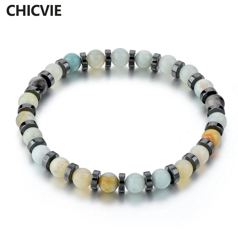 Купить женский браслет с матовым камнем