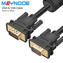 VGA HDMI Adapter VGA to VGA Extension Cable Digital Audio Converter Connector Male to Male 1m to 15m for HDTV Projector Computer