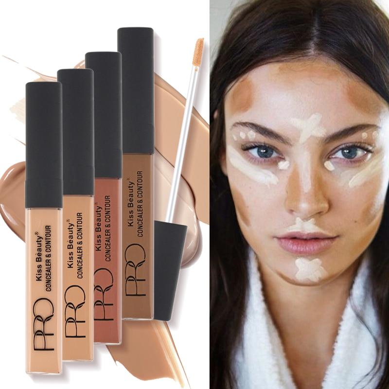 4 PCS/Set Face Concealer Contour Concealer Radiant Creamy Concealer Highlighter Brozer Makeup Brighten Natural Face Concealer