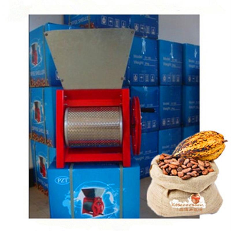 цена на Fresh coffee pulper huller coffee cocoa bean peeling machine