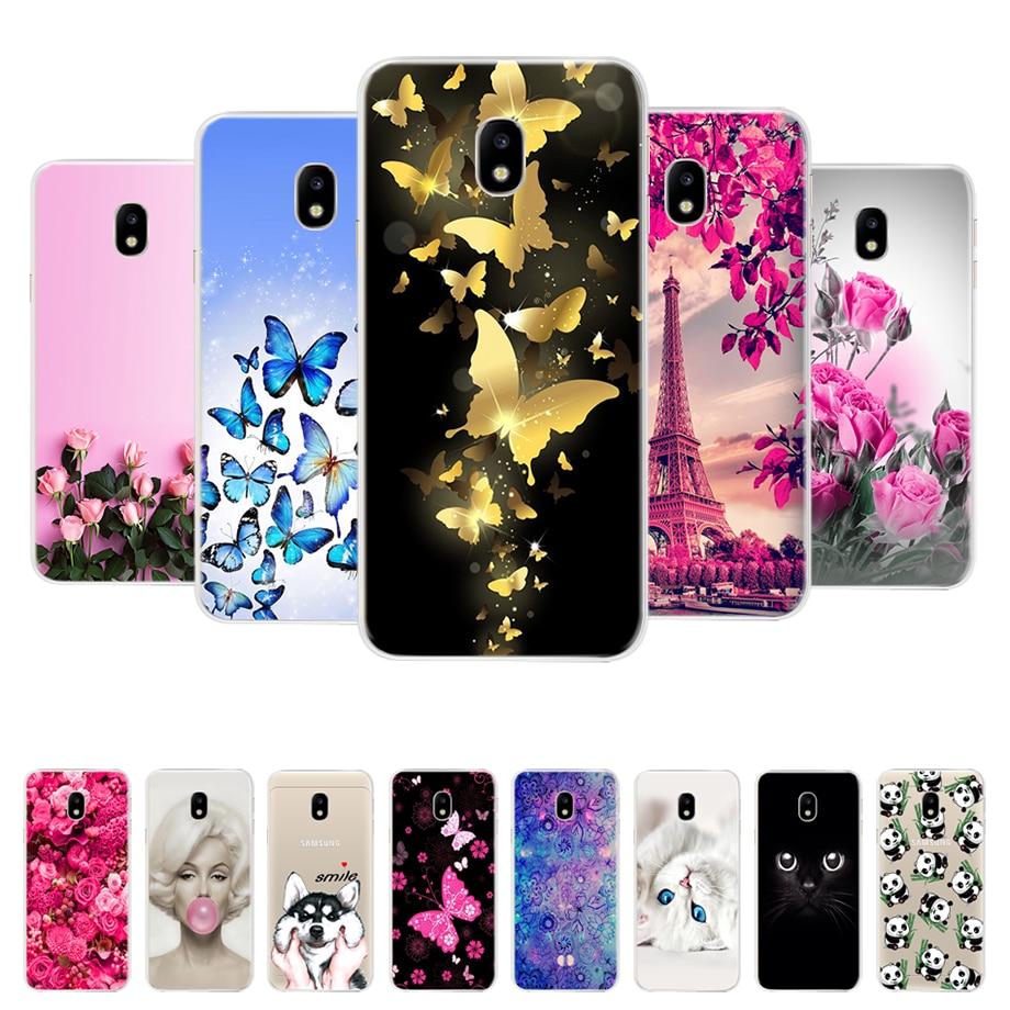 Galleria fotografica Phone Case For Samsung Galaxy j3 j5 j7 2017 Case Soft Silicone Cover for Protector Samsung j3 j5 j7 2017 Back Cover bumper Coque