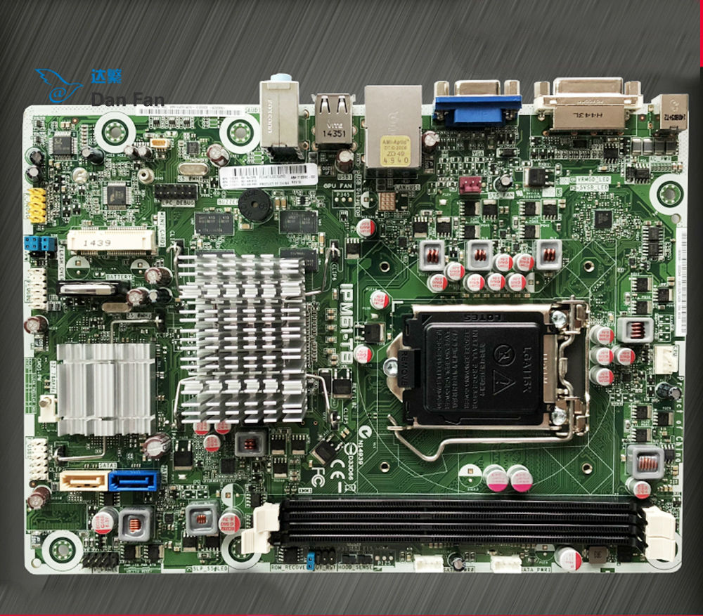 712292-001 For HP 110 Desktop Motherboard 717071-501 IPM61-TB Mainboard 100%tested Fully Work