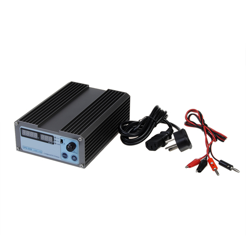 1 set universal Standard CPS-3205 0-32V 0-5A Portable Adjustable DC Power Supply Pro with Cable 110/220V EU/US/AU/UK Plug Option autoeye cctv camera power adapter dc12v 1a 2a 3a 5a ahd camera power supply eu us uk au plug