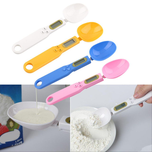 Digital LCD Measuring Food Kitchen Lab Electronic Spoon Weight Scale