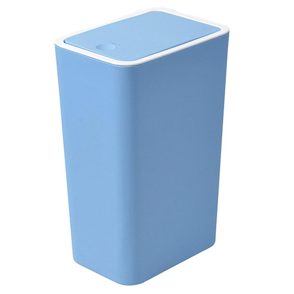 Bedroom Kitchen Trash Can Waste Garbage Bin Cleaning Storage ...