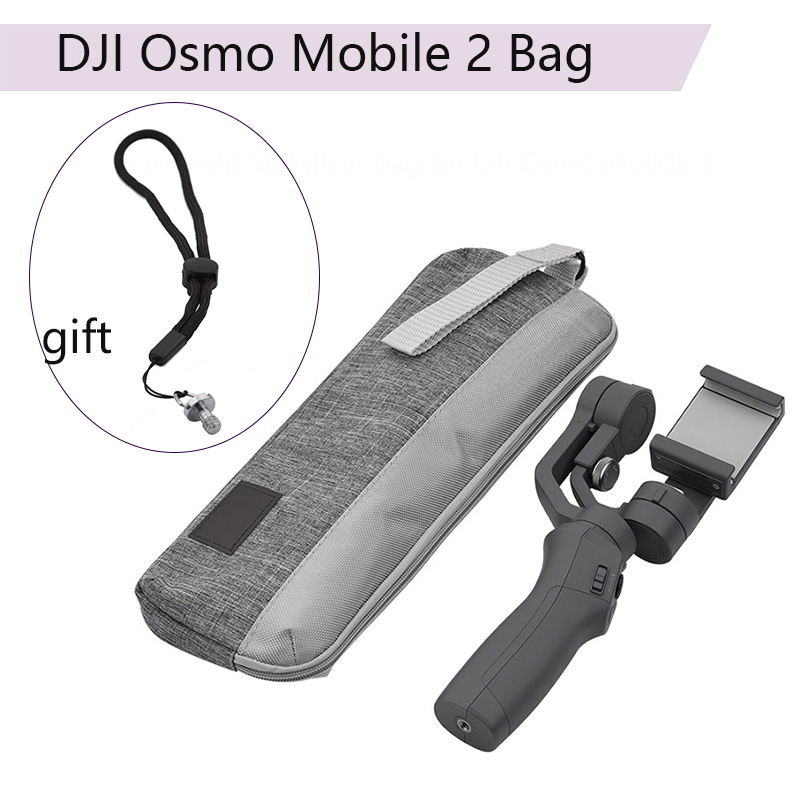 Bolsa de almacenamiento caso para Zhiyun suave Q Suave 4 para DJI OSMO Mobile 2 xiaomi Mijia 3-eje de mano estabilizador de cardán Accesorios
