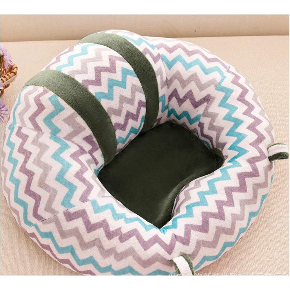 Новое Детское сиденье для малышей, мягкая подушка на стул, плюшевая игрушка-подушка для дивана - Цвет: H