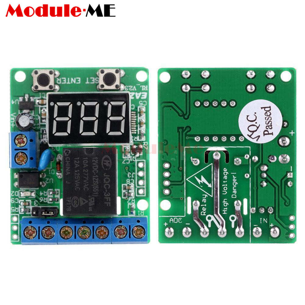 hight resolution of excellent relay module dc 12v relay switch control board module relay module voltage detection charging discharge monitor test