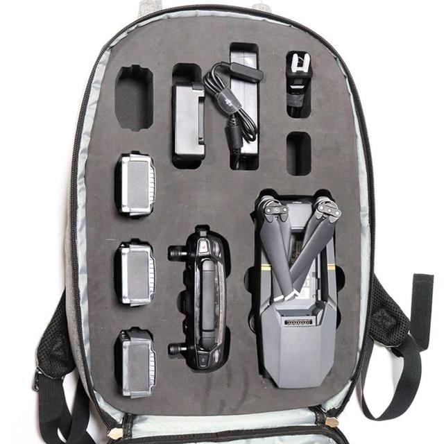 Hard Shell Carrying Backpack bag Case Waterproof Anti-Shock For DJI Mavic Pro Drone accessories