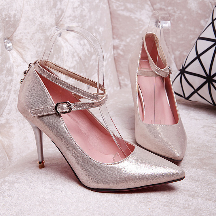 Popular Silver Small Heels-Buy Cheap Silver Small Heels lots from ...