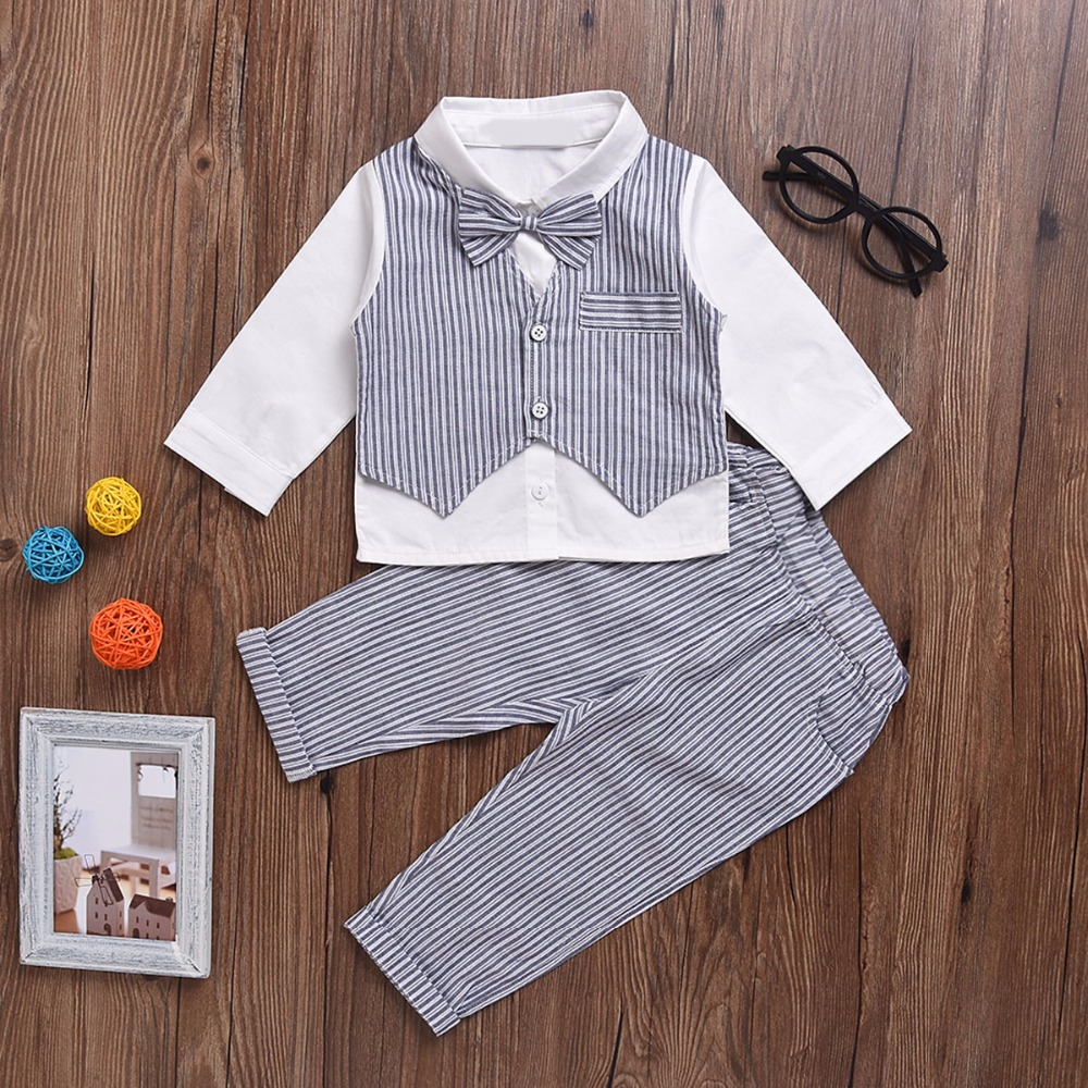 Pusek Baby Boys Clothes Set Fashion Infant Clothing Baby