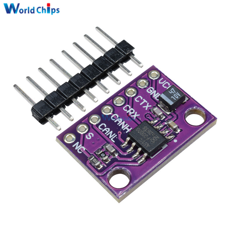 Active Components Cjmcu-1051 Tja1051 High Speed Low Power Consumption And Can Transceiver Module 3v ~ 5v Replace Tja1050 For Arduino Delicacies Loved By All