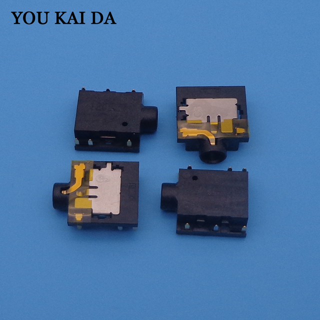 Headphone MIC Audio Jack Socket Connector for Dell Inspiron 15R 2521 3521  5321 5521 3721 5721 etc Earphone Combo port