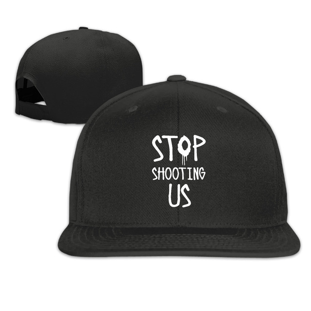 Tumblr Cap Snapback Hat Dad Hats Stop Shooting Us Bone Feminino Tumblr  Trucker Hipster Alien Quote Cap Gorras Hip Hop Unisex b03e3a7d8bc8