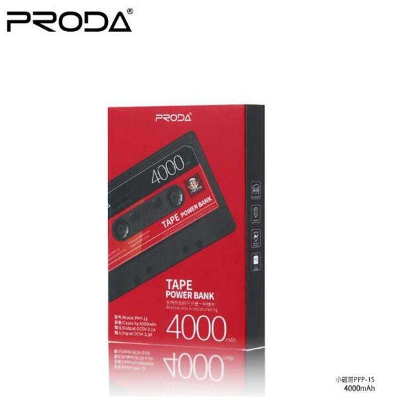 imágenes para Cinta de Diseño de Gran Capacidad de Teléfono Móvil Móvil Remax 4000 mAh Mini Banco de la Energía de Carga En General Tesoro Potencia Extra de Respaldo de Energía