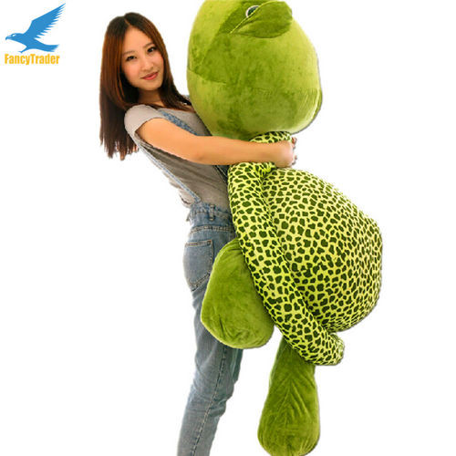 Fancytrader 59\'\' 150cm Lovely Stuffed Soft Giant Tortoise Turtle Toy, Free Shipping FT50059 (6)