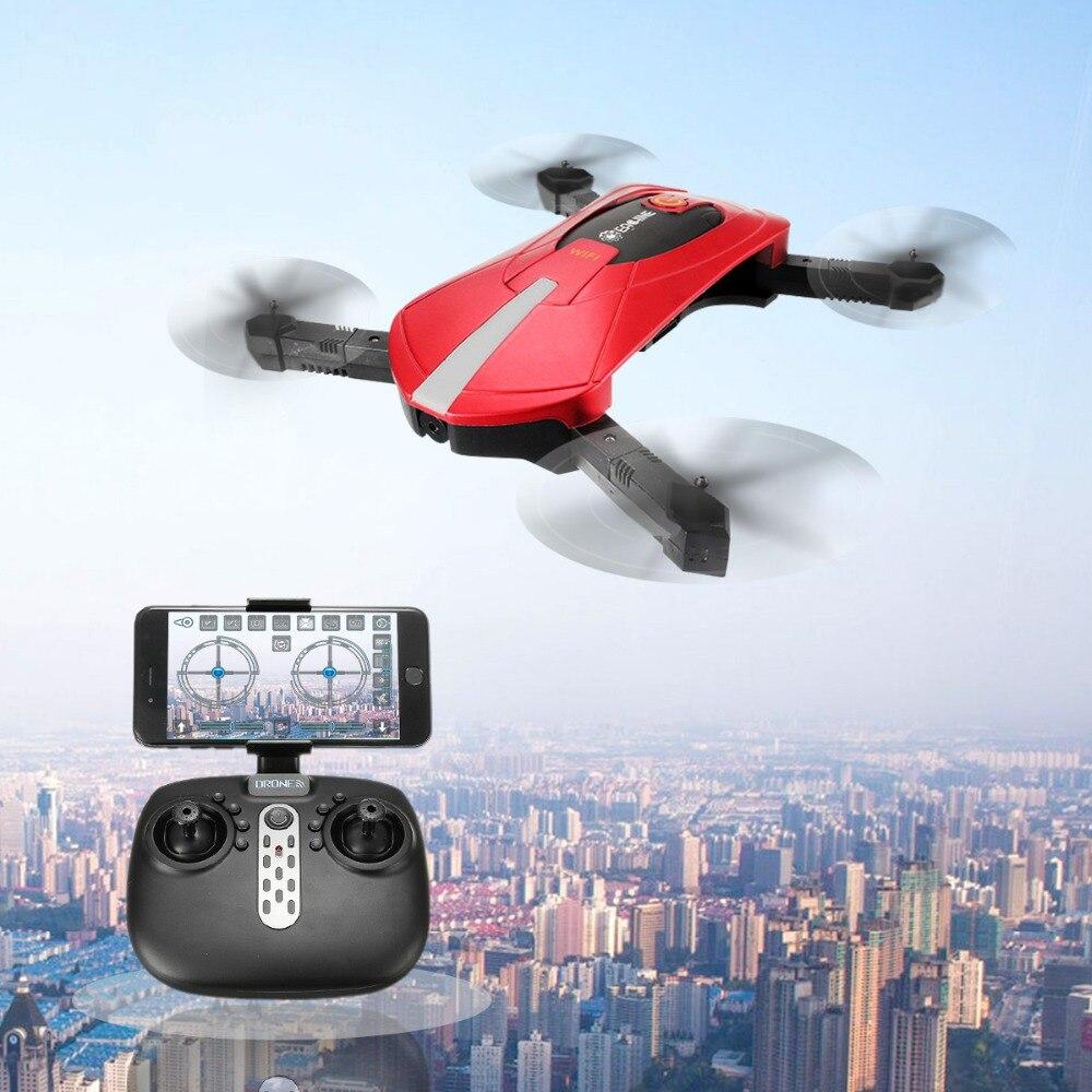 Eachine E52 Wi-Fi FPV селфи Дрон с высоким режим удержания Складная рукоятка RC Quadcopter RTF для Детский подарок