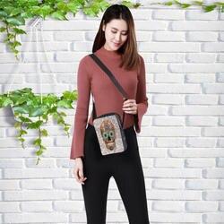 2019 модные женские сумки-мессенджеры в стиле панк, Детская сумка через плечо, сумка для девочки с черепом, Детская сумка 23x17x5 см