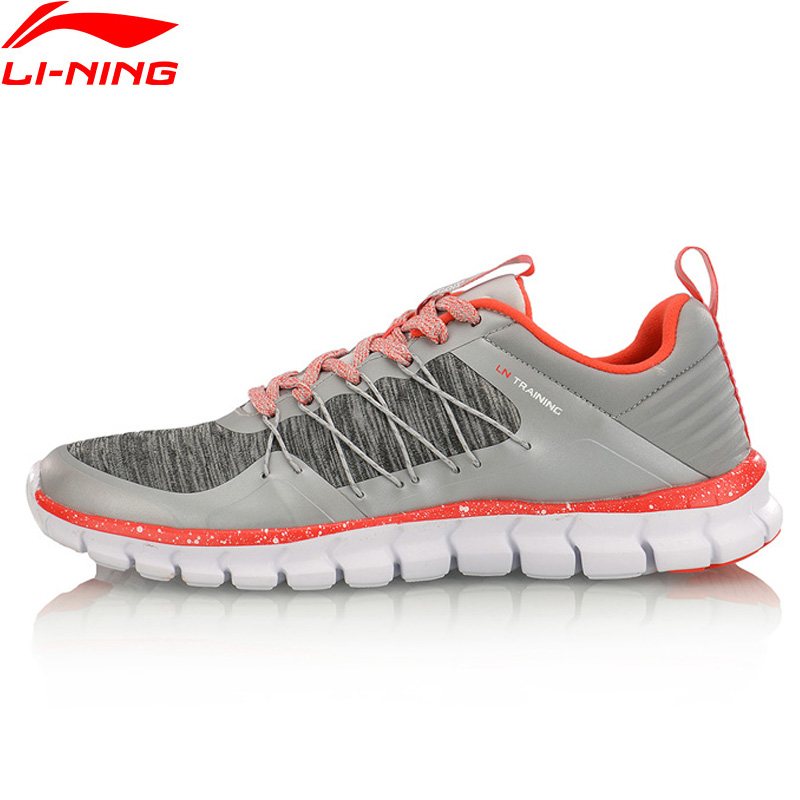 Li-Ning 24H Women Training Shoes Breathable LiNing Sports Shoes Wearable Anti-Slippery Sneakers AFHM042 YXX020 li ning men dominator basketball shoes leather support lining wearable sports shoes li ning breathable sneakers abpm027