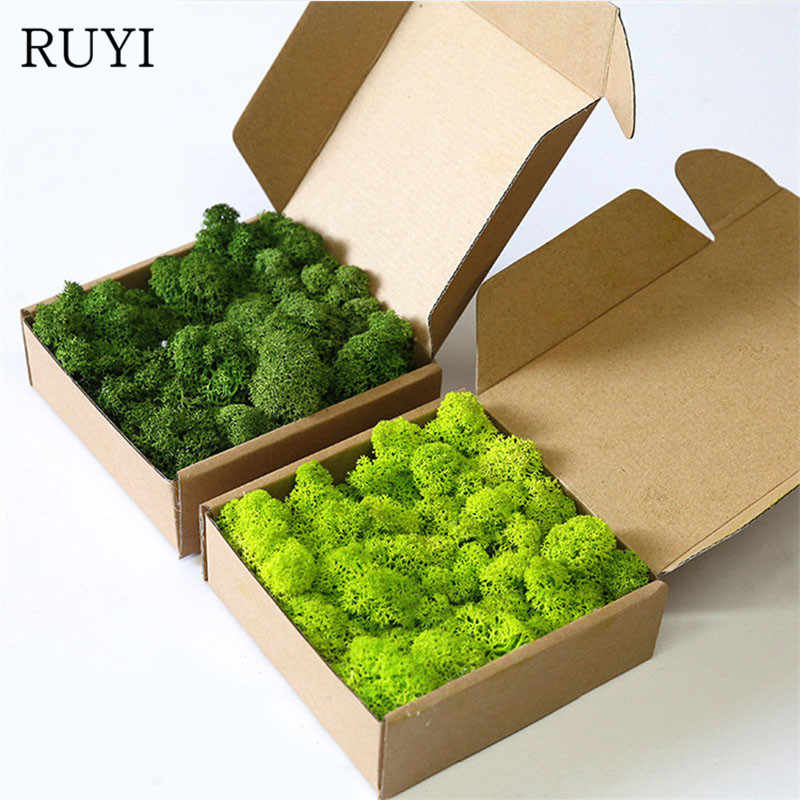 Artificial plant eternal life moss / Garden home decoration wall DIY Flower material Mini Garden Micro Landscape Accessories