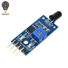 WAVGAT IR Infrared 4 Wire Flame Detection Sensor Module IR Flame Sensor Module Detector Smartsense For Arduino(China)