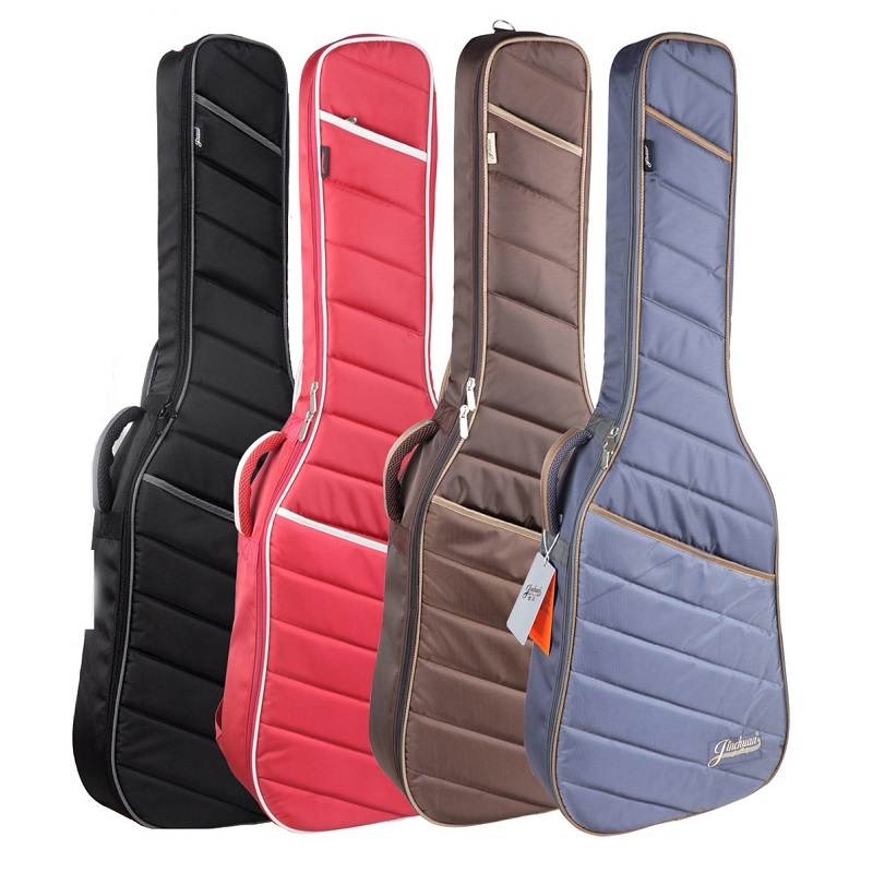 Bass Bags Classic Guitar Bag 39inch Classical Guitar Bag Black Electric Guitar Bag Shoulder Straps Electric Bass Guitar Case