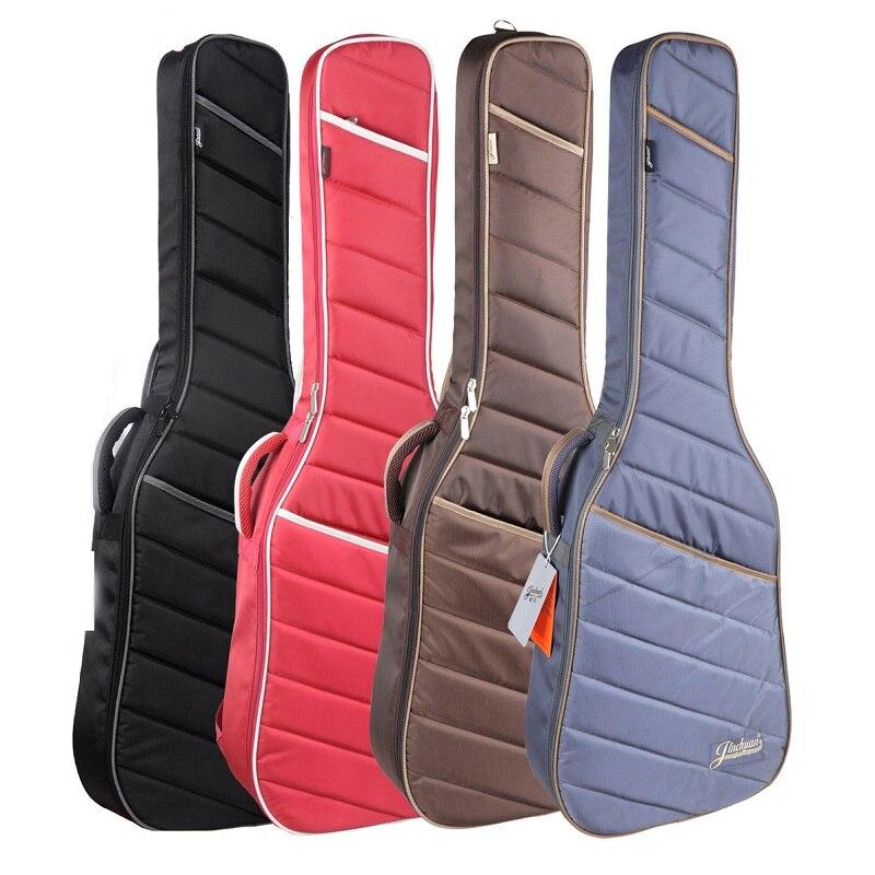 Bass Bags Classic Guitar Bag 39inch Classical Guitar Bag Black Electric Guitar Bag Shoulder Straps Electric Bass Guitar Case