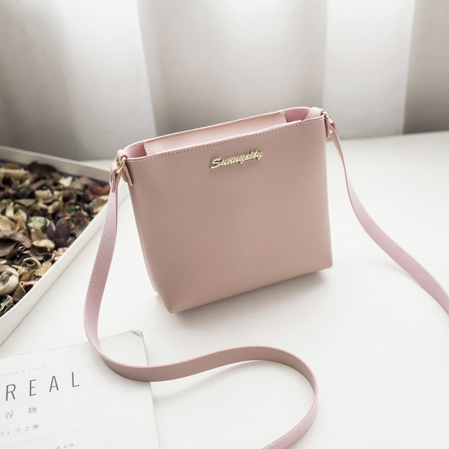 2806aa7ab8 2018 Fashion For Women Solid zipper Shoulder Bag Crossbody Bag Messenger  Phone Coin Bag Small korean Style Bolsas Feminina Saco