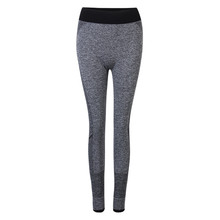 HOT Fitness Yoga Pants Leggings Gym Training Running Trousers Sweat-absorbent Sportswear Elastic Pants For Women Body Building