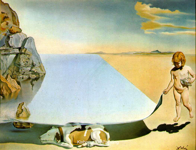 Salvador Dali – Michel Keck |Salvador Dali Dog Paintings