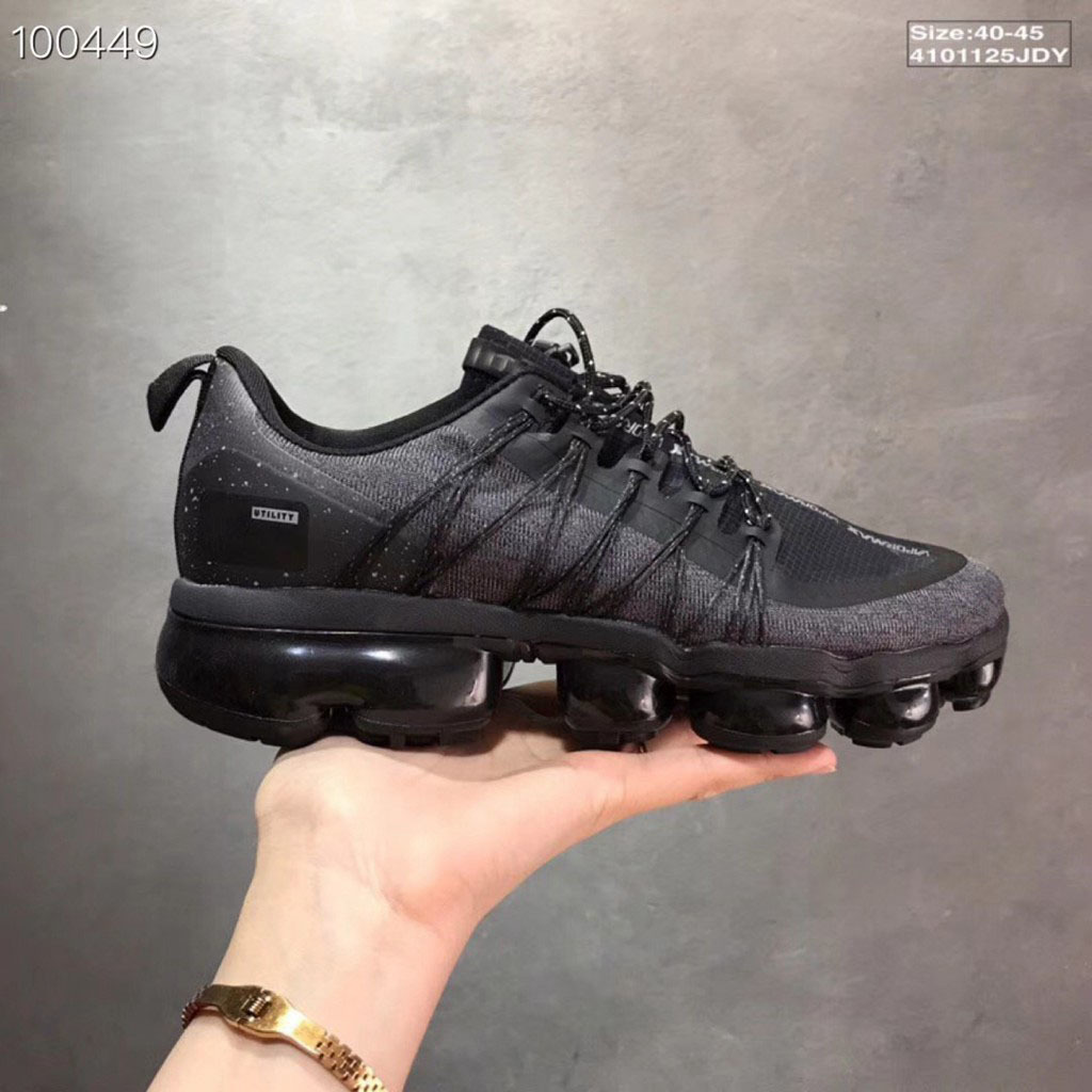 2018 offre spéciale Vapormax Run Utilitaire Hommes chaussures de course Sport Hommes Sneakers Air Vapormax Chaussures chaussures de sport