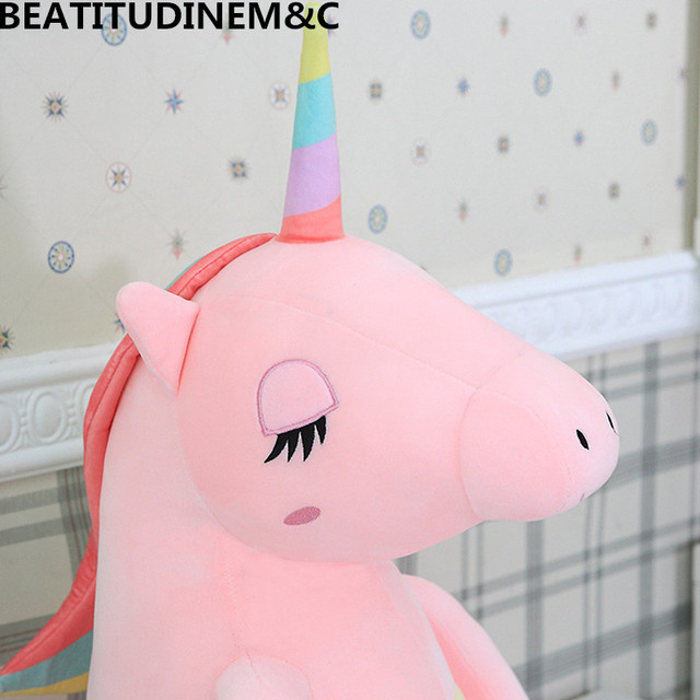 Large Soft Unicorn Animal Plush Toy