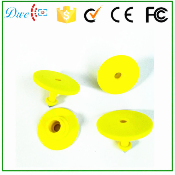 Free shipping 10 sets/lot 865-868mhz UHF RFID Animal Tag for cow/cattle/pig/sheep