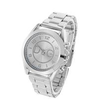 купить reloj mujer 2018 Hot Sale New Women Watches Fashion Stainless Steel Watch for Women Men Quartz Analog Wrist Watch kobiet zegarka по цене 248.8 рублей