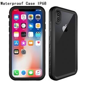 Image 2 - Coque de protection complète 360 °, antichoc et anti poussière, pour iPhone X Xs Max Xr 12 Pro 11 Mini 6s 7 8 Plus