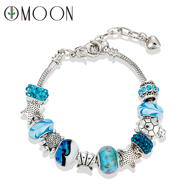 pandora charms azul