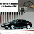 Câmera Traseira do carro Para Citroen C5 Sedan 4D/5D Hatchback/SW/Câmera traseira de Estacionamento/DVD DVR CÂMERA GPS/License Plate Lamp OEM
