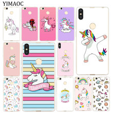 YIMAOC UNICORN cartoon funny Horse Soft Case for Xi