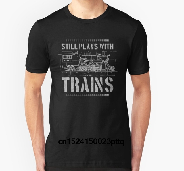 934f1f6b33be ... aliexpress com fashion cool men t shirt women funny tshirt; railroad t  shirts online spreadshirt; railroad ...