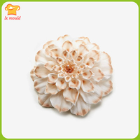 2018 new LXYY MOULD chrysanthemum modeling candle silicone mold rose handmade candle mold