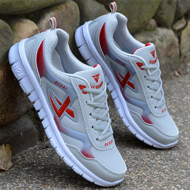 Men Shoes Size 39-46 Adult Men Sneakers Summer Breathable Krasovki Shoes Super Light Casual Shoes Male Tenis Masculino Sneakers
