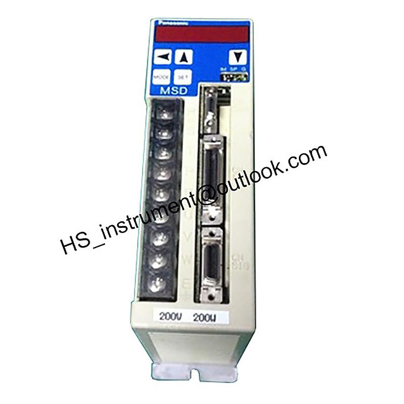 MSD023A1X AC SERVO DRIVE MSD023A1X 200W USED 100% TESTED used 100% tested sgml 08af14c sgml 08af14c ac servo motor sgml 08af14c
